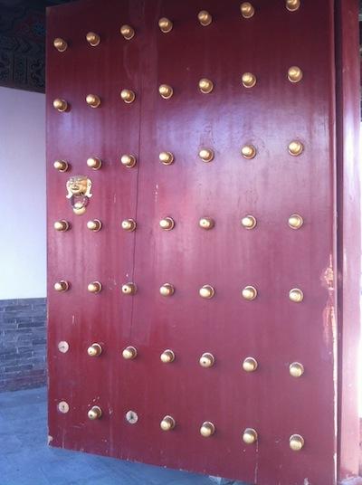Confucian Temple Door
